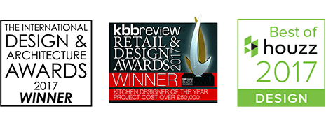 TIDAA Shortlisted, Kbbreview, Houzz logos