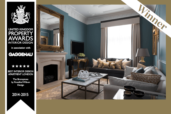 Roselind Wilson Design UK Property Awards 2014-2015 London