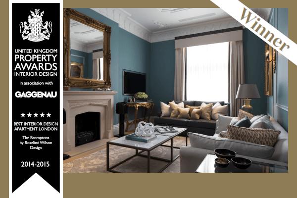 Roselind Wilson Design UK Property Awards 2014-2015 London
