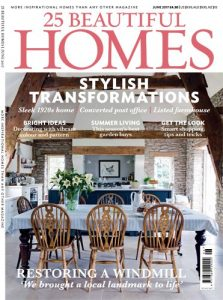 cover of 25 beautiful homes june 2017 issue