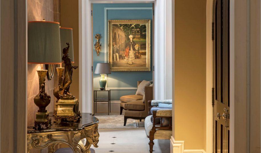 Roselind Wilson Design Bromptons hallway