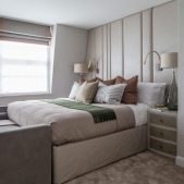 Roselind Wilson Design Eaton Mews North Master bedroom