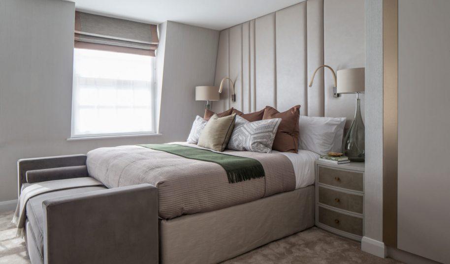 Roselind Wilson Design Eaton Mews North Master bedroom