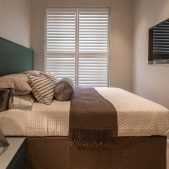 Roselind Wilson Design Eaton Mews North guest bedroom