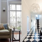 Roselind Wilson Design Holland Park Lounge hallway