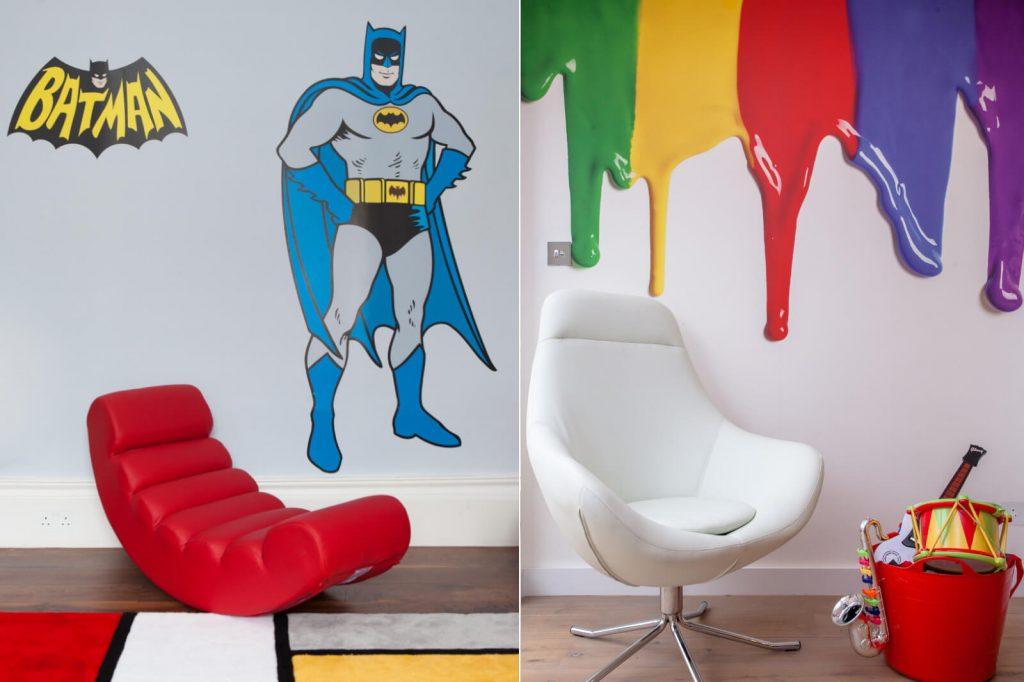 Roselind Wilson Design Holland Park Kids room