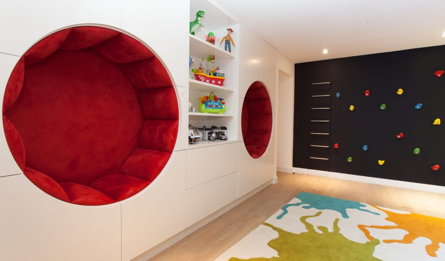 Roselind Wilson Design Holland Park boys playroom