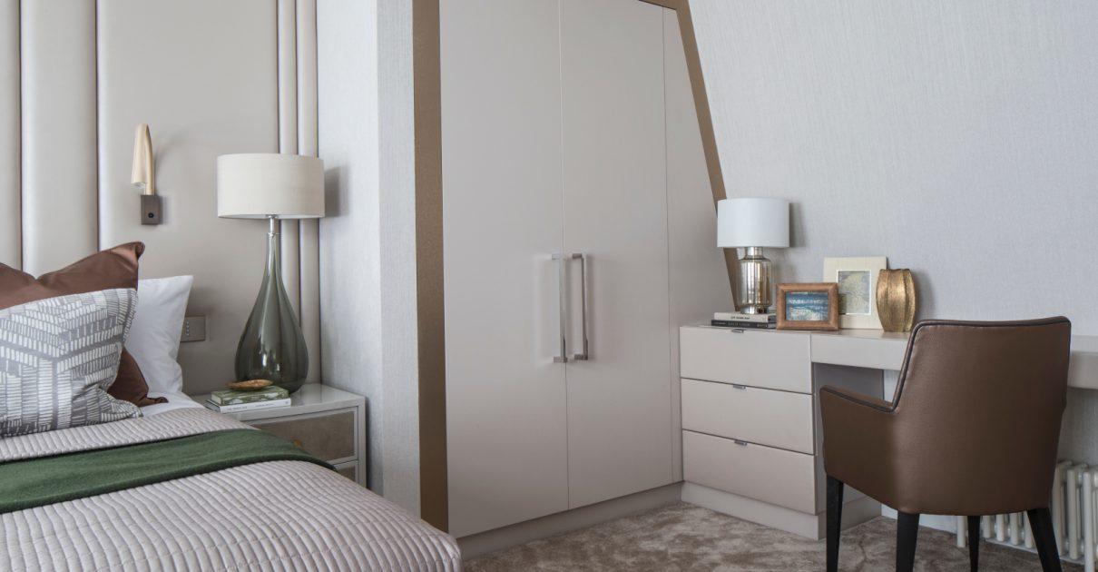 Roselind Wilson Design Eaton Mews North bedroom cupboard