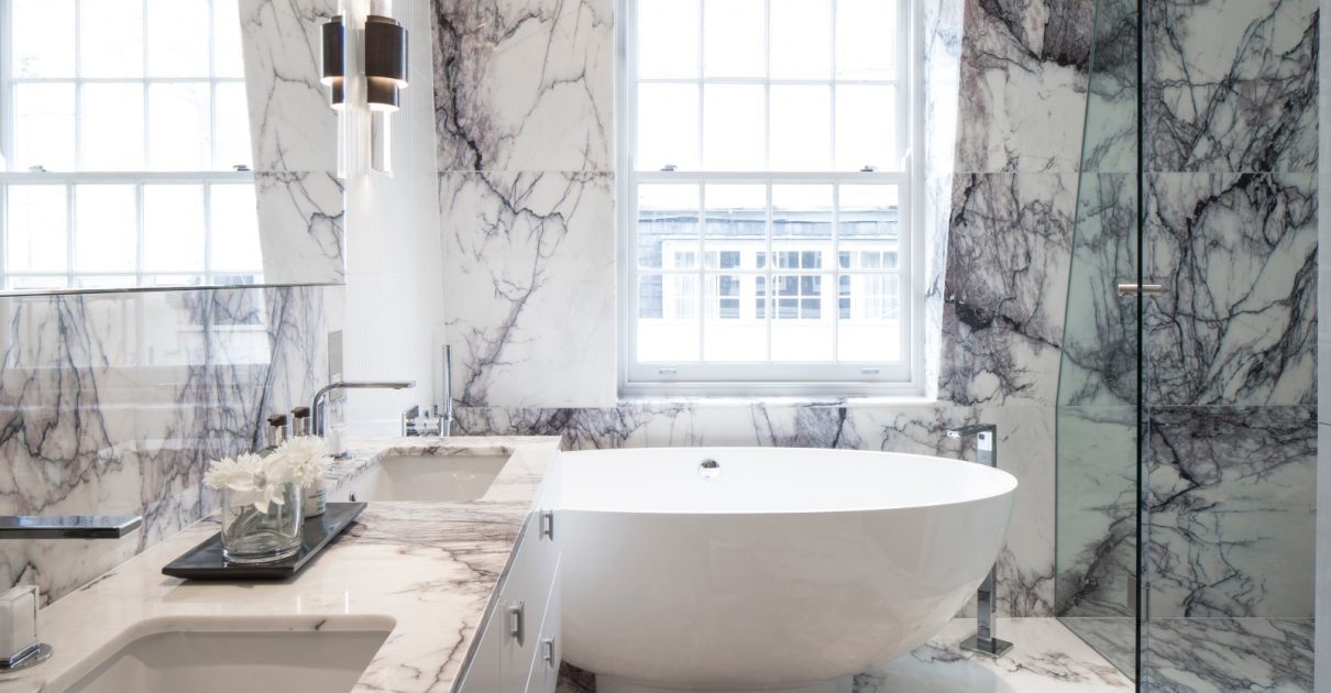 Roselind Wilson Design Eaton Mews North luxury bathroom