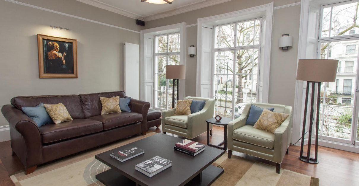 Roselind Wilson Design Holland Park living room