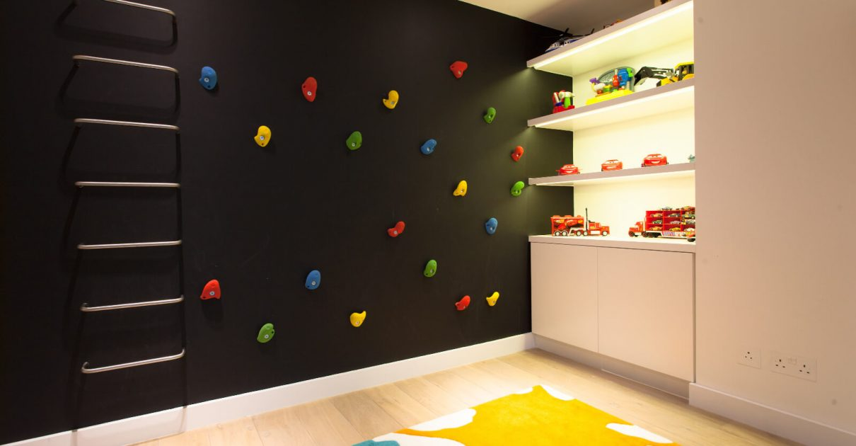 Roselind Wilson Design Holland Park boys room luxury interior design