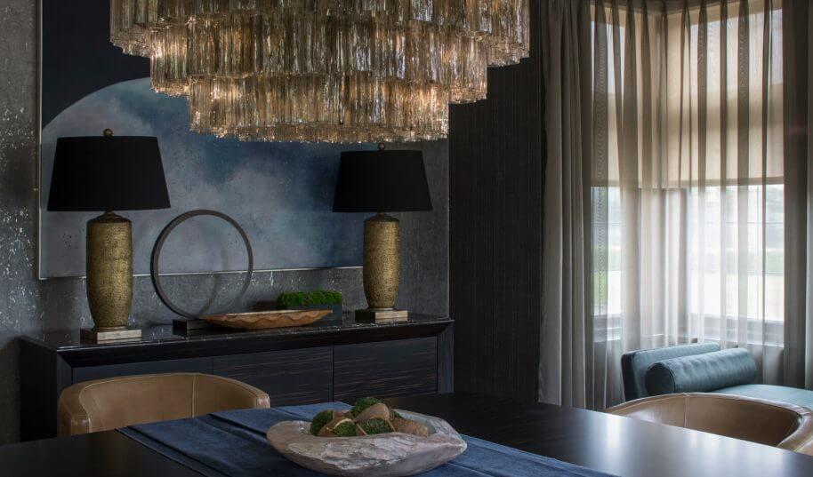 Broad walk luxury chandelier
