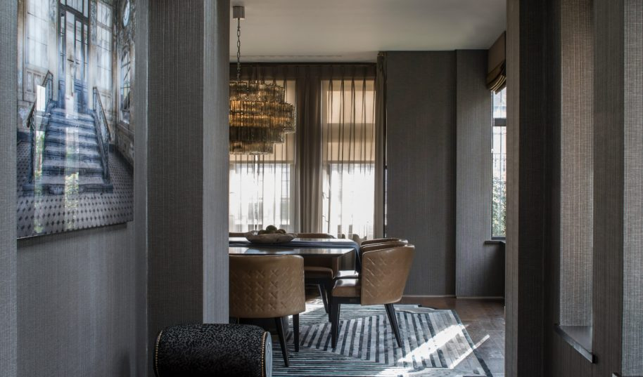 Roselind Wilson Design Antrim Grove Dining room