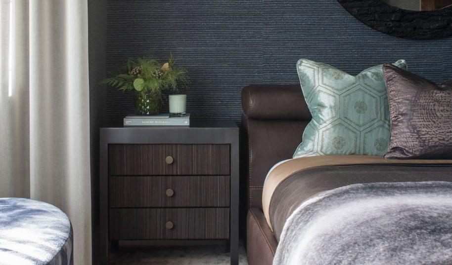 Roselind Wilson Design Antrim Grove Guest bedroom