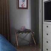 Roselind Wilson Design Eastcastle Street master bedroom