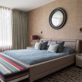 Roselind Wilson Design Antrim Grove master bedroom