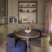 Roselind Wilson Design Richmond breakfast room