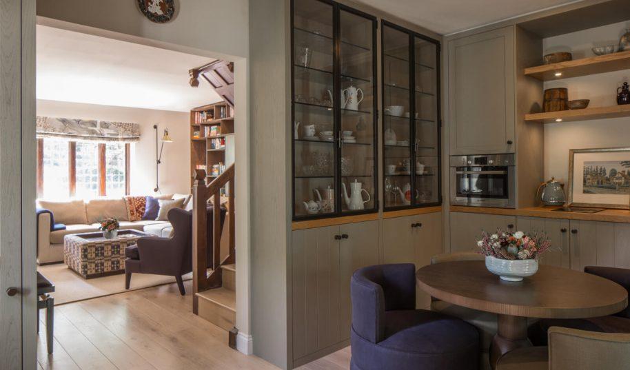 Roselind Wilson Design Richmond breakfast room