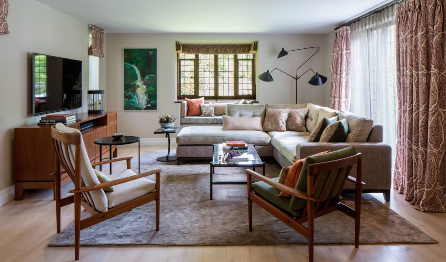 Roselind Wilson Design Richmond Living Room