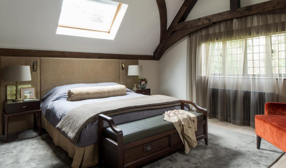 Roselind Wilson Design Richmond Master Bedroom
