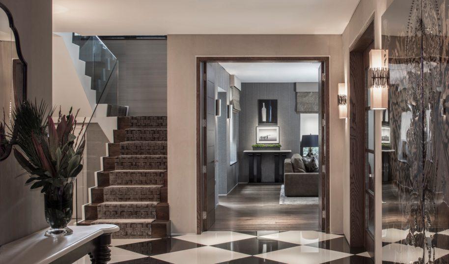 Roselind Wilson Design Broad Walk hallway