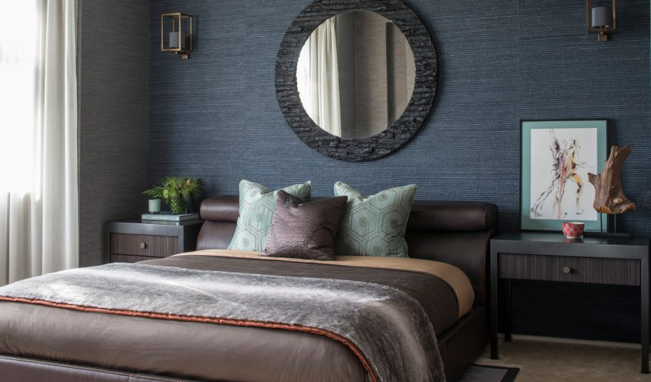 Roselind Wilson Design Broad Walk bedroom