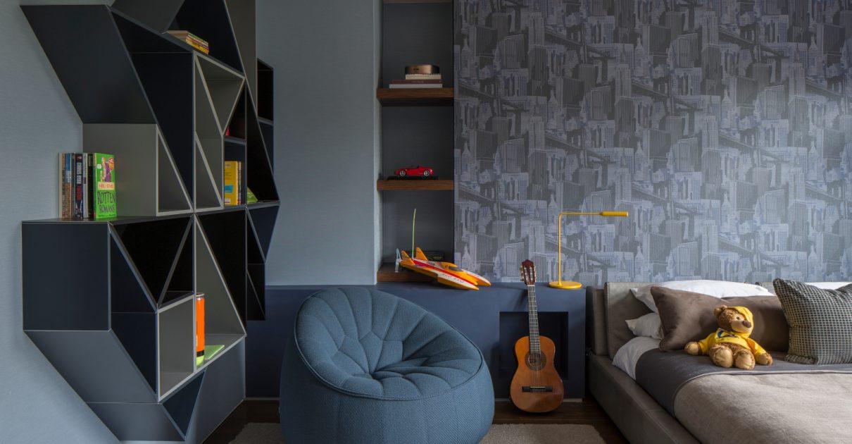 Roselind Wilson Design Broad Walk luxury kids bedroom
