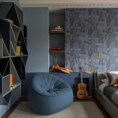 Roselind Wilson Design Broad Walk luxury kids bedroom
