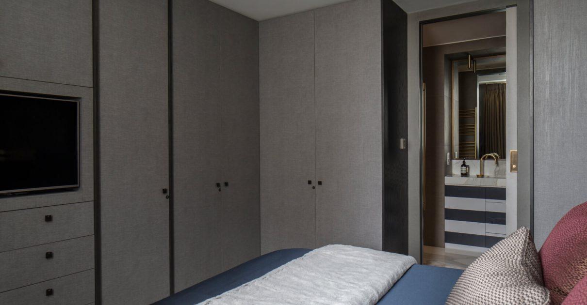 Roselind Wilson Design Eastcastle Street bedroom