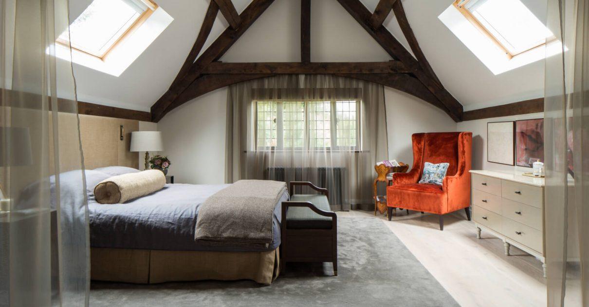 Roselind Wilson Design Richmond bedroom