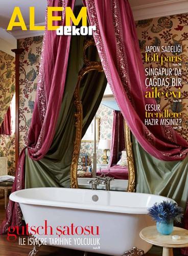cover of alem dekor turkey magazine december 2014 issue