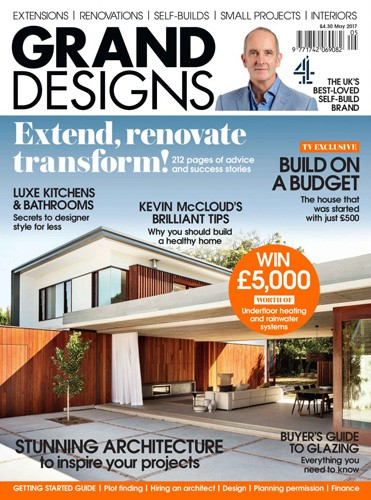 cover of grand designs uk may 2017 issue