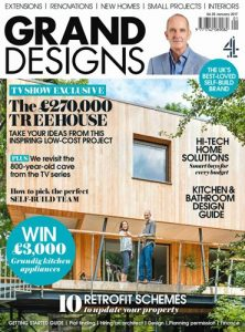 cover of grand designs uk magazine january 2017 issue