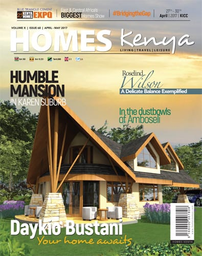 cover of homes kenya may 2017 issue