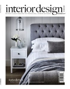 cover of interior design today november 2017 edition