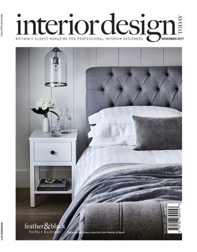 cover of interior design today november 2017 edition