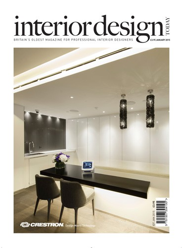 cover of interior design today magazine january 2015 issue