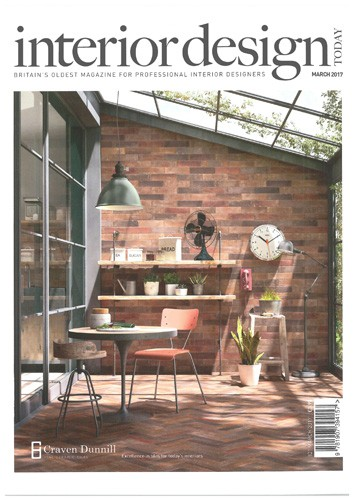 cover of interior design today magazine march 2017 issue
