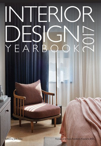 cover of the interior design 2017 yearbook professional edition