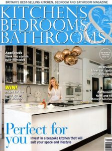 cover of kitchens bedrooms and bathrooms magazine april 2017 issue