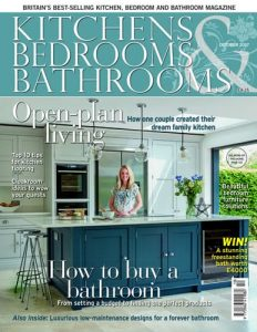 cover of kitchens bedrooms and bathrooms october 2017 issue