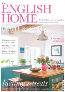 cover of The English Home May 2017 issue