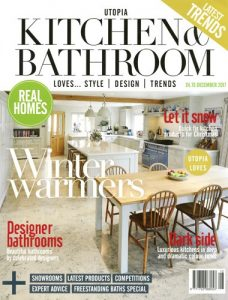 cover of utopia kitchen and bathroom december 2017 issue