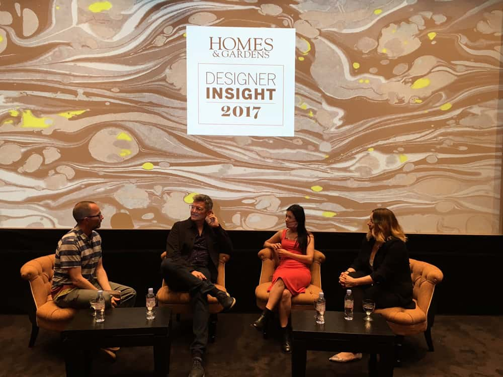 homes and gardens designer insight panel