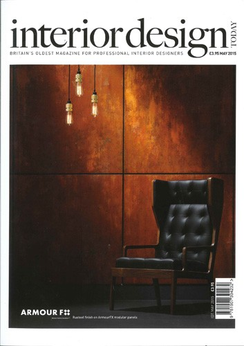 cover of interior design today magazine may 2015 issue