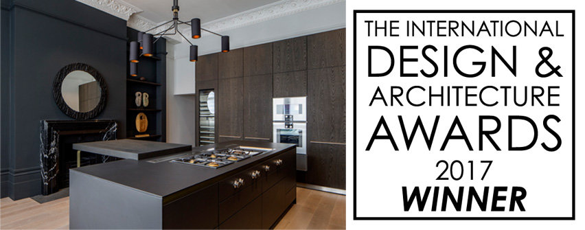 kitchen design winner of the international design and architecture awards 2917