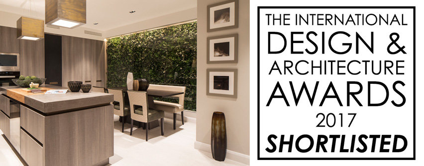 residential design shortlisted in the international design and architecture awards 2017