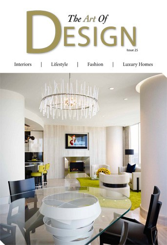 cover of the art of design magazine