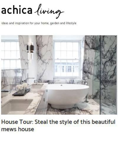 achica living online tour of London mews house