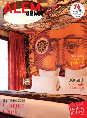 cover of alem dekor turkey magazine march 2014 issue